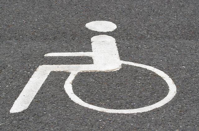 znak invalidy