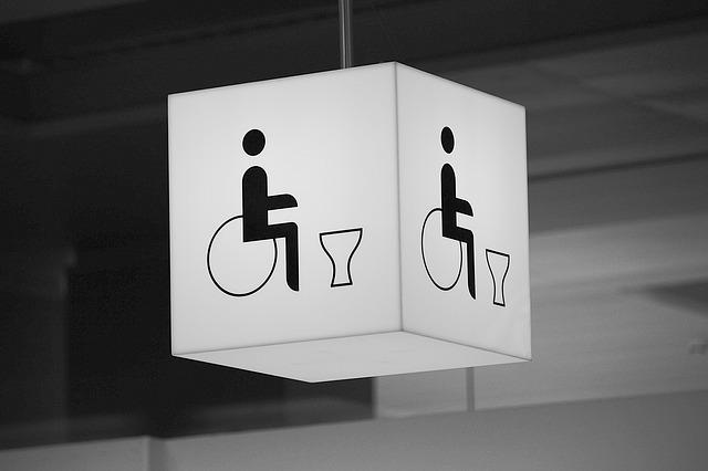 wc vozíčkáře