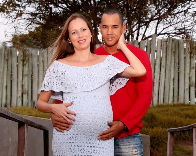 manžel těhotné