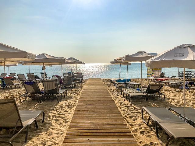 pláž v Bulharsku