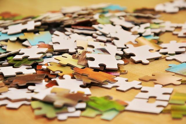 puzzle na kupě